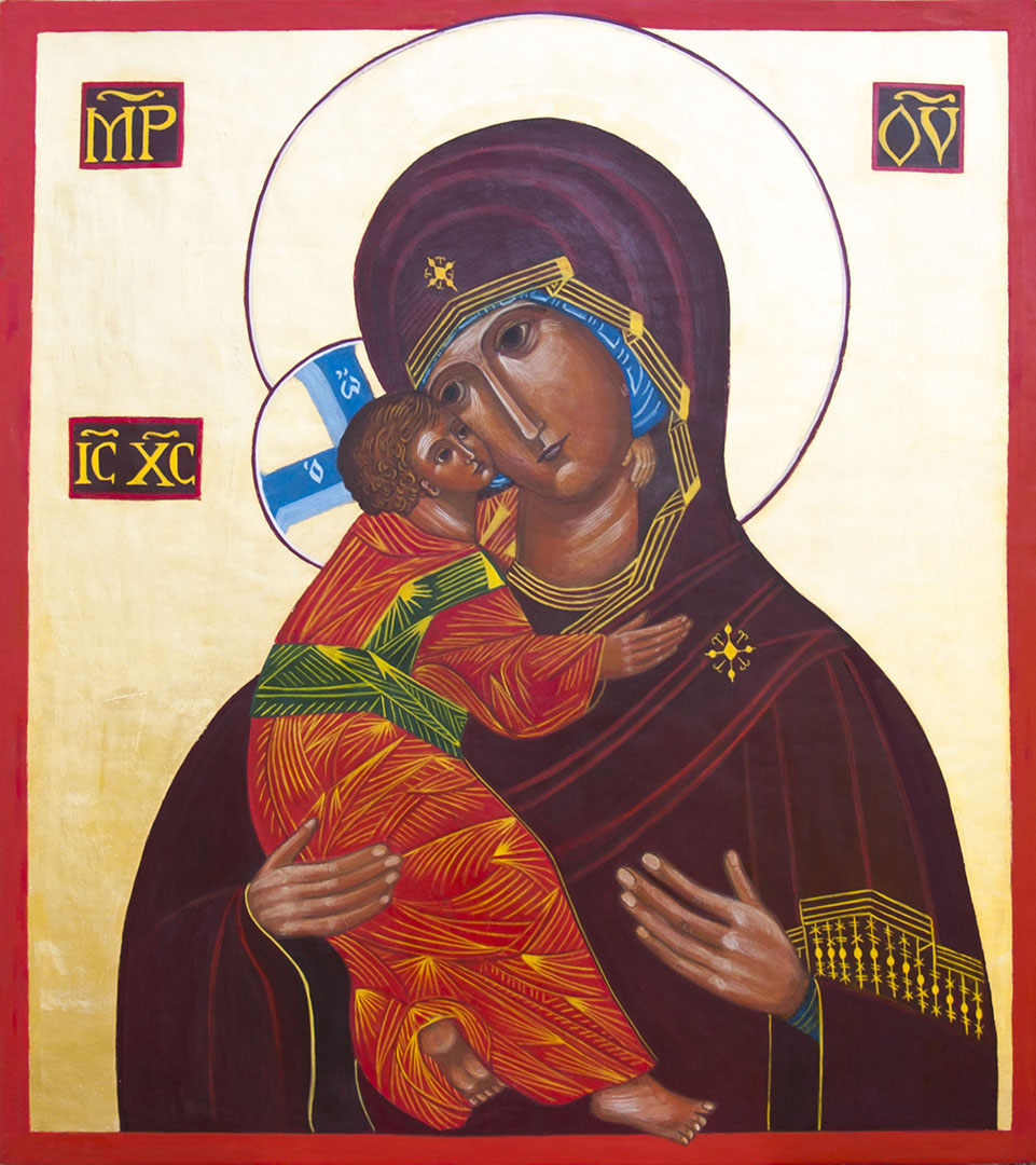 icon of Mary Mother of God