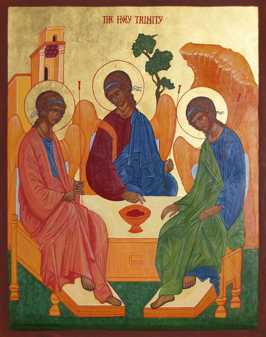 icon of the Trinity