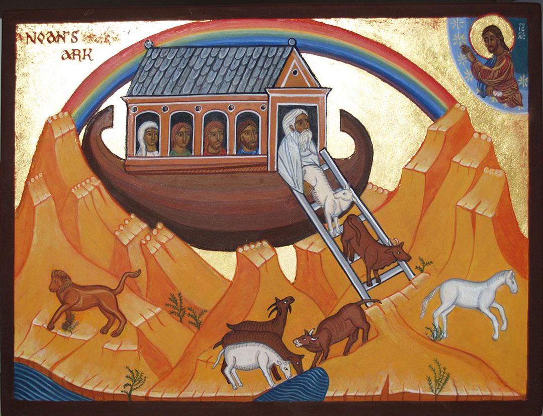 icon of Noah's Ark
