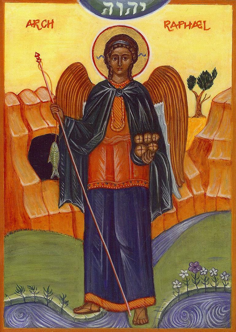 icon of the Archangel Raphael