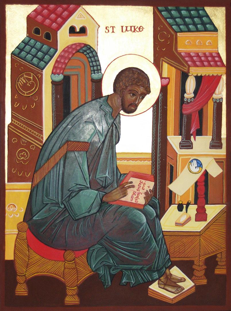 icon of St Luke